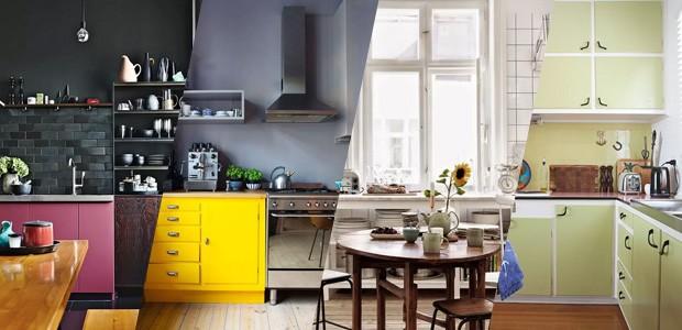 Decoração de Cozinha colorido