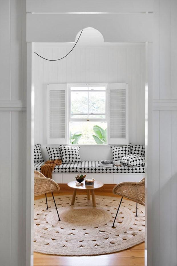Sala branca: 14 jeitos de decorar (Foto: Reprodução)