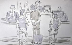 ilustração testemunha 300 (Foto: Leo Aragão/G1)