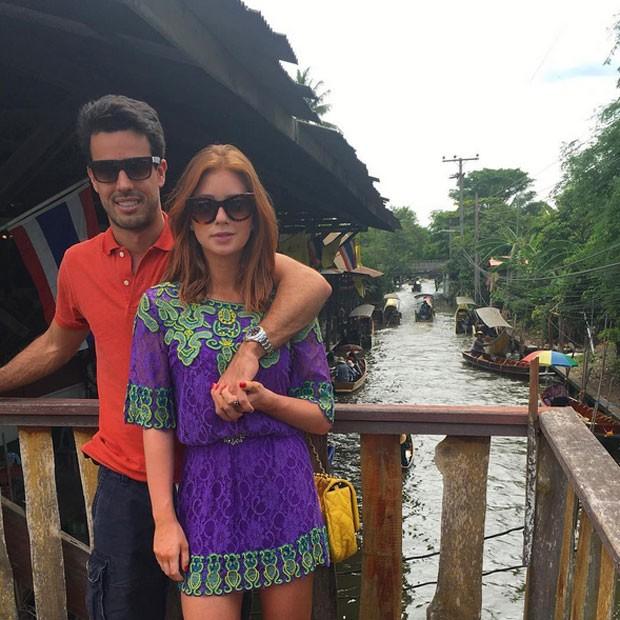 Marina Ruy Barbosa com o namorado, Xandinho Negrão, em Bangkok, na Tailândia (Foto: Instagram/ Reprodução)