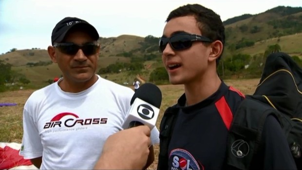 1º Campeonato Parapente Machados 3 (Foto: Reprodução/ TV Integração)