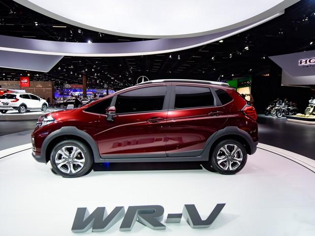 G1 - Honda WR-V tem lançamento mundial no Salão de São Paulo - notícias em Salão de São Paulo 2016