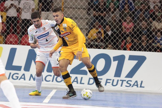 Carlos Barbosa e Sorocaba duelam pela Liga Futsal (Foto: Reprodução/Facebook)