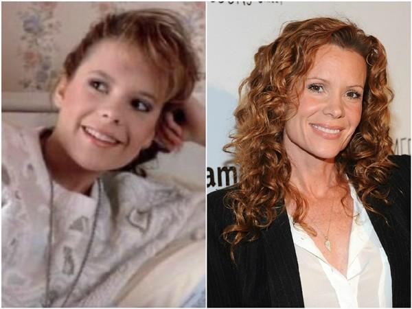 Robyn Lively em 1989 e 2014 (Foto: Divulgação/Getty Images)