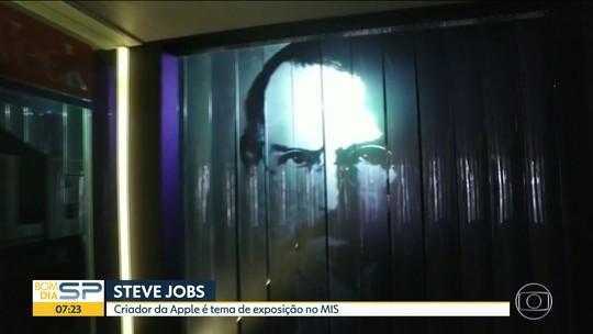 Exposição sobre Steve Jobs, fundador da Apple, é destaque do feriadão em SP; VÍDEO