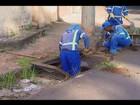 Quantidade de lixo recolhido em bueiros chama atenção em Uberlândia