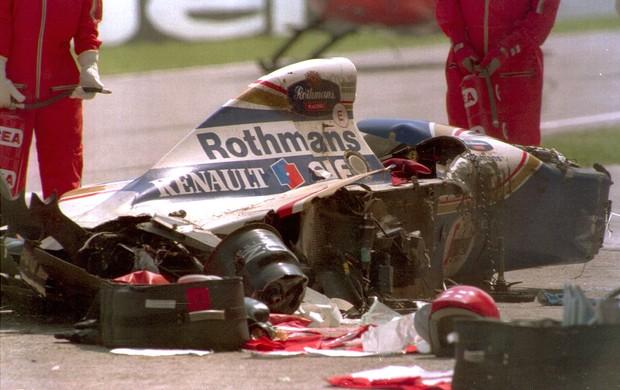 Ayrton Senna Fórmula 1 F-1 1994 (Foto: Getty Images)