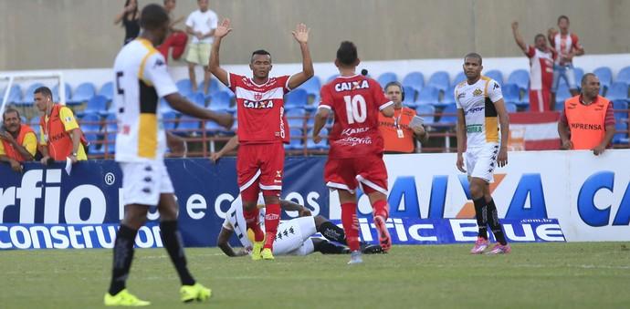 Zé Carlos CRB Criciúma (Foto: Ailton Cruz/Gazeta de Alagoas)