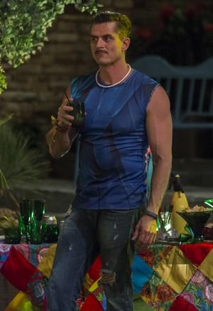 Marcos na Festa Amazônia (Foto: Artur Meninea/Gshow)