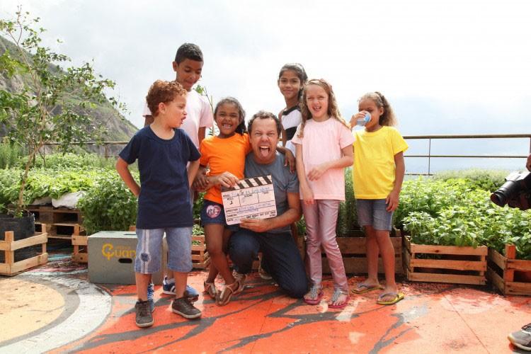 Conheça a Escola Vidigal idealizada por Vik Muniz (Foto: Divulgação)