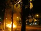 Grupo entra em conflito com polícia durante final da Eurocopa em Paris