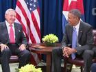 Raúl Castro pede a Obama fim de embargo contra Cuba