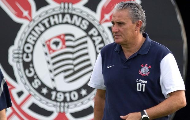 Tite, Corinthians (Foto: Daniel Augusto Jr / Agência Estado)
