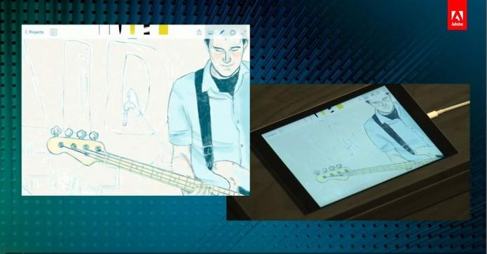 Adobe Sketch tem ferramentas refinadas de desenhos e integração com o Ink&Slide (Foto: Reprodução/Adobe)