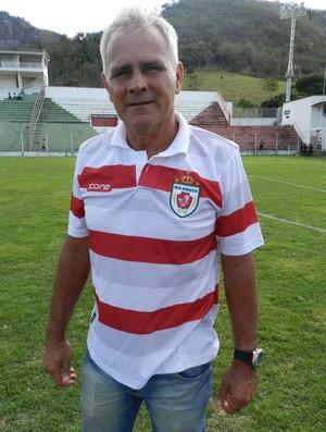 Vevé, técnico do Real Noroeste (Foto: William Herkenhoff Lima/Sport News)