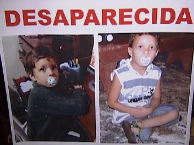 Caso do desaparecimento do menino Nicolas completa um ano nesta segunda (Foto: Reprodução / TV Tem)