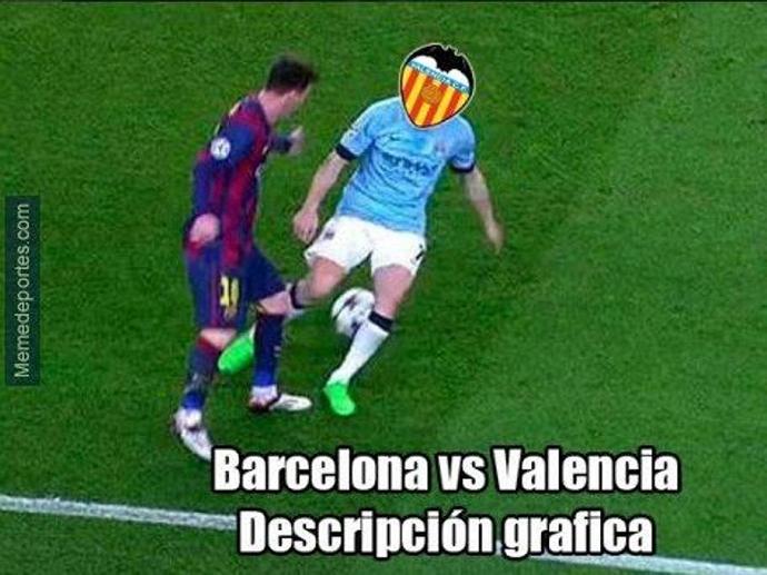 Barcelona Valencia memes