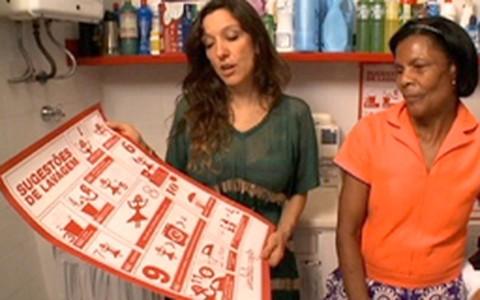 Isabela Capeto dá dicas de lavagem de roupas