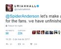 """Uriah Hall desafia Spider de olho em """"negócios inacabados"""" no UFC 198"""