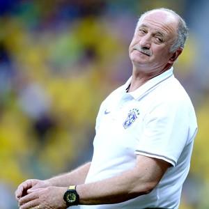 Felipão Scolari jogo Brasil x Holanda (Foto: Getty Images)