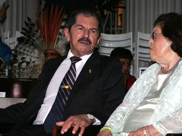 Ex-deputado federal Wildy Viana das Neves, de 87 anos, pai do governador do Acre morreu nesta segunda-feira (13) (Foto: Ségio Vale/Secom)