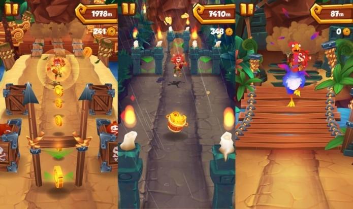 Boulder Jack é um jogo que se parece muito com Crash Bandicoot (Foto: Divulgação)