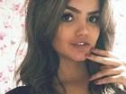 Kelly Key posta foto da filha, Suzanna Freitas, decotada: 'Mãe babona'