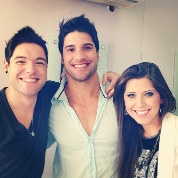 Nasser, Marcello e Andressa (Foto: Instagram/ Reprodução)