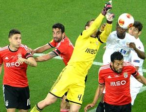 Jan Oblak Sevilla e Benfica (Foto: Agência AFP )
