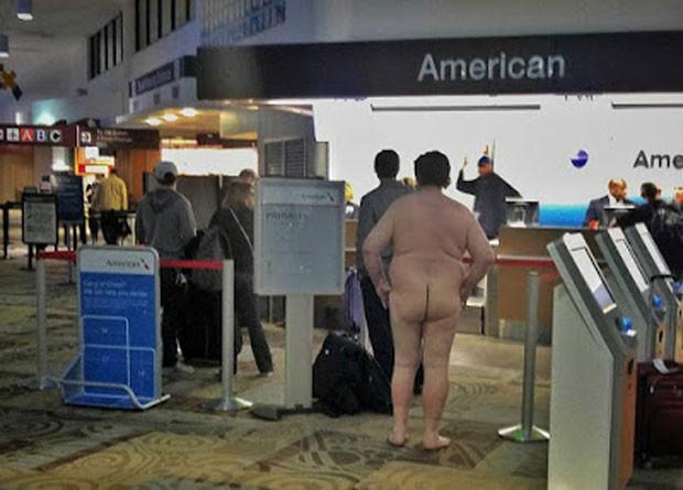 Eric Cherry foi preso após ficar pelado no aeroporto internacional de Nashville (Foto: Reprodução/Facebook/Tod Brilliant)