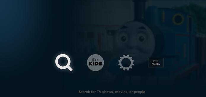 Acessando a opção Configurações do Netflix no Xbox (Foto: Divulgação/Microsoft)