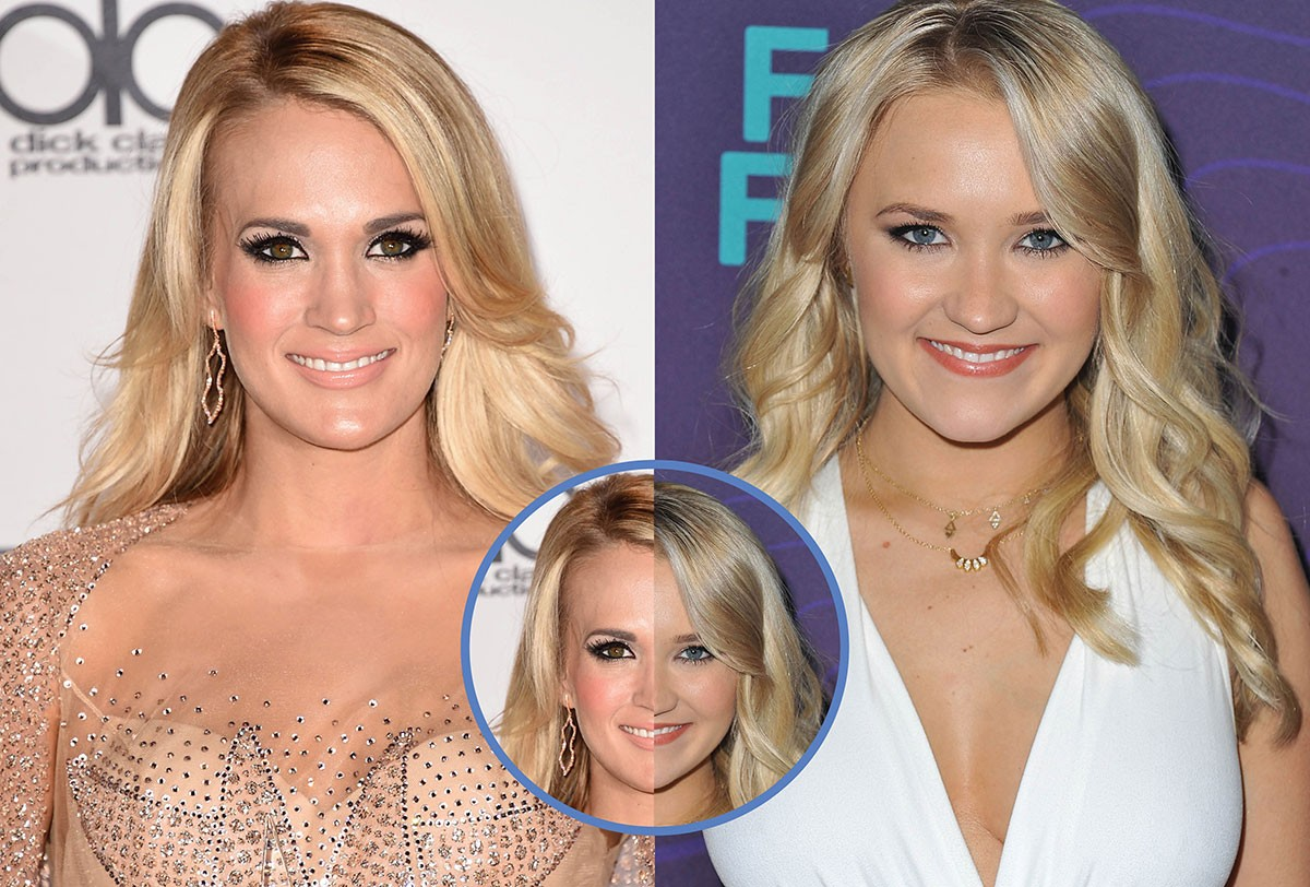 Carrie Underwood e Emily Osment (Foto: Getty Images)