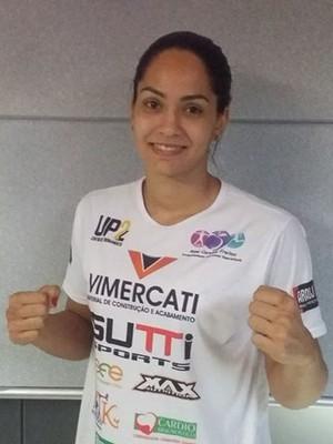 Barbara Nepomuceno vai disputar o Pan-americano de kickboxing, no México (Foto: Richard Pinheiro/GloboEsporte.com)