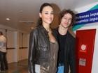 Débora Nascimento e José Loreto vão a show de Joss Stone no Rio