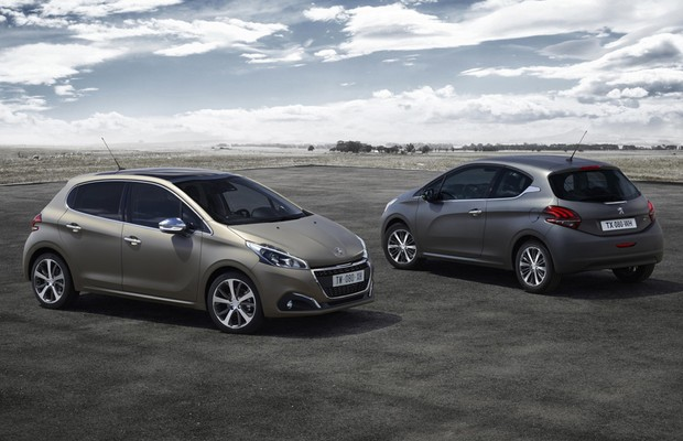 Peugeot apresenta facelift do 208 na Europa, modelo chega em 2016 aqui