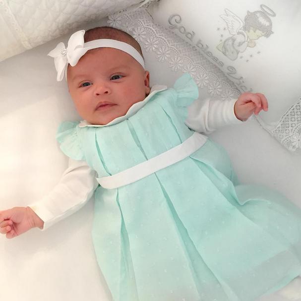 """Victória usa um estilo mais princesa, quase uma Elsa do filme """"Frozen"""" (Foto: Reprodução/Instagram)"""