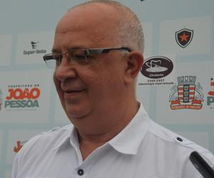 Guilherme Carvalho, Novinho, presidente do Botafogo-PB (Foto: Larissa Keren / GloboEsporte.com)