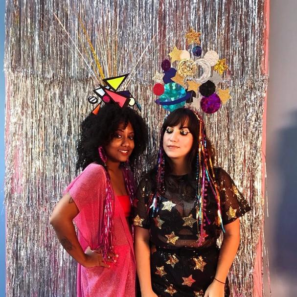 Luiza Brasil e Amanda Britto, do blog Starving (Foto: Instagram/Reprodução)