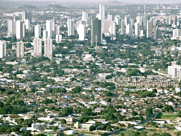 Cuiabá panorâmica (Foto: Leandro J. Nascimento/G1)