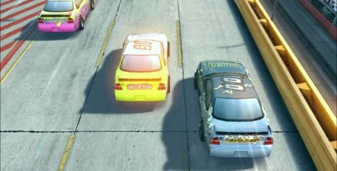 Daytona Rush é um jogo de corrida com comandos simples (Foto: Divulgação)