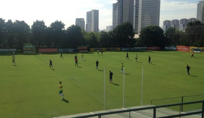 Palmeiras x Nacional jogo treino (Foto: Rodrigo Faber)