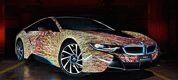 BMW i8 de Lapo Elkann (Foto: Reprodução)