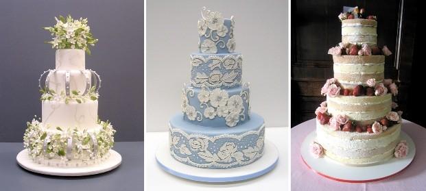 Bolos de casamento feitos pela confeiteira americana Colette Peters (Foto: Divulgação)