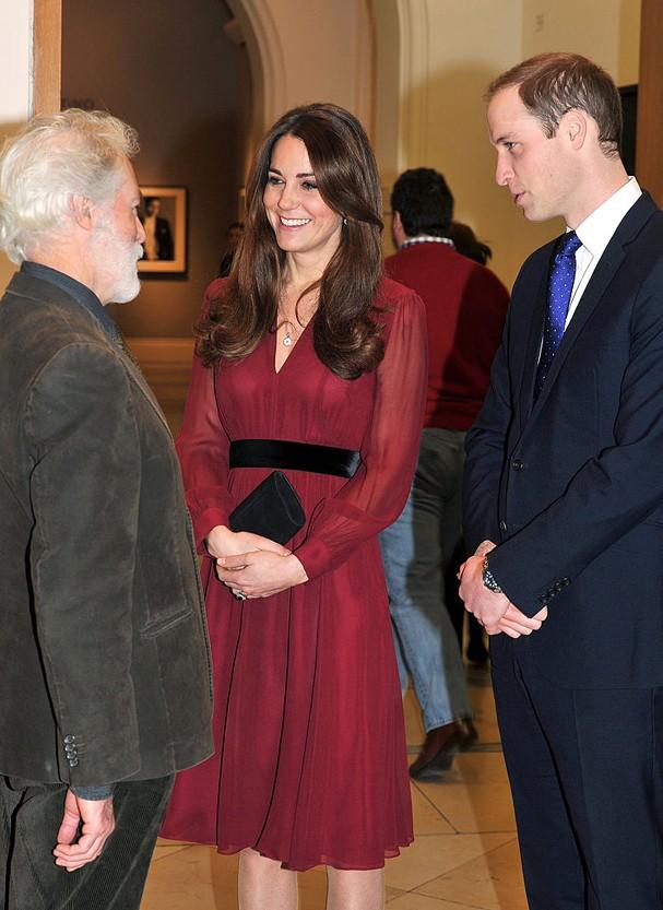 Kate Middleton usa vestido da Whistles por US$ 133 (R$ 426)  (Foto: John Stillwell - WPA Pool/Getty Images)