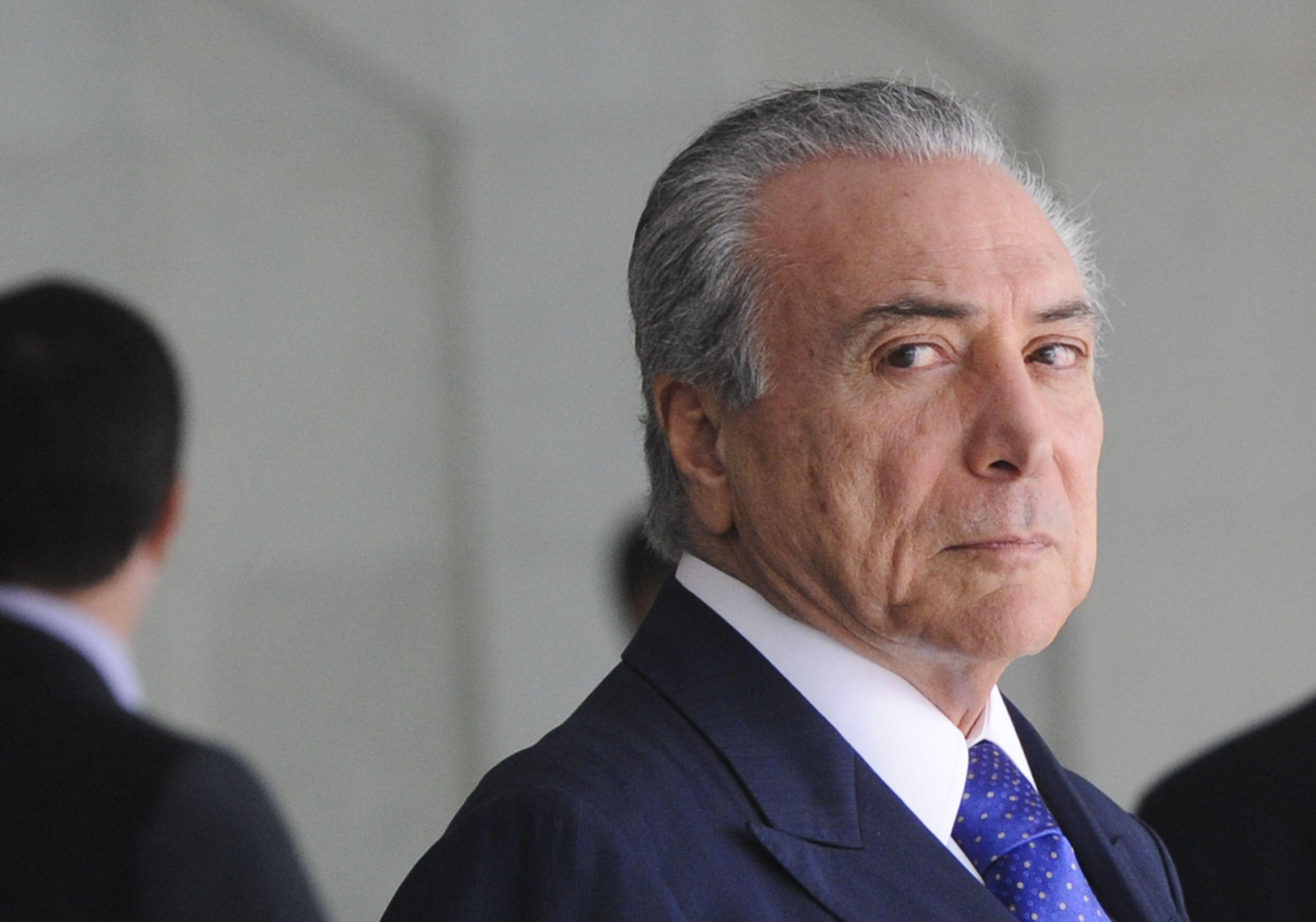 Michel Temer viu seu governo passar por grave crise política (Foto: Agência Brasil)