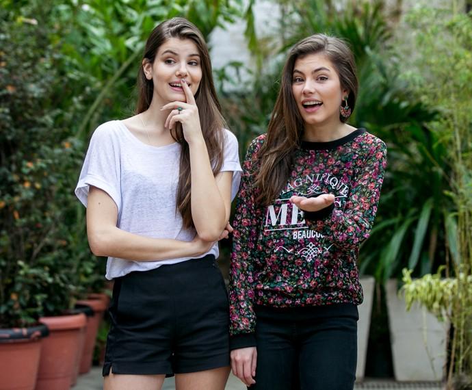 Camila Queiroz e Bruna Hamú 2 (Foto: Isabella Pinheiro/Gshow)