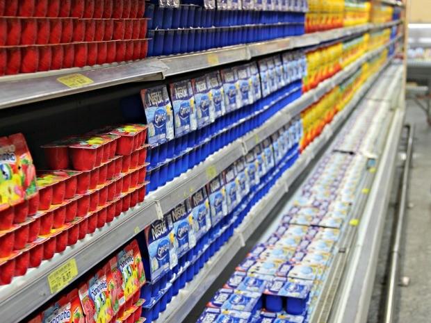 Iogurte é um dos itens mais caros  (Foto: Suelen Gonçalves/G1 AM)