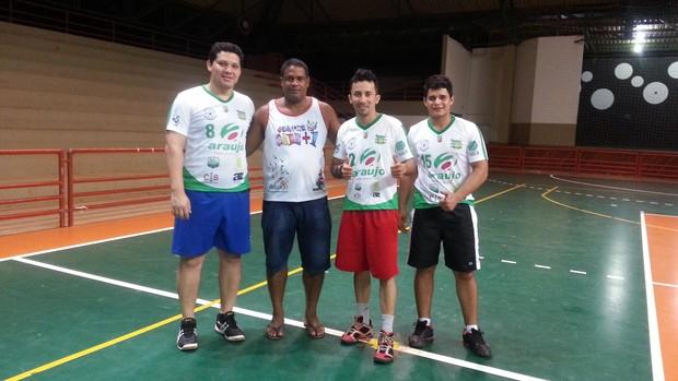 Equipe do Amazônia presenta reforços para temporada 2013 (Foto: Wescley Camelo)
