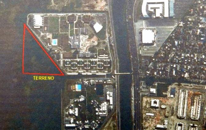 mapa terreno Fluminense (Foto: Reprodução)