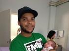 Veja a foto do primeiro neto de Mister Catra